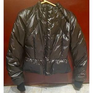BCBG Cropped Puffer Jacket
